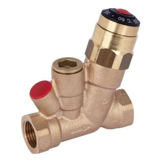 Клапан термостатический автомат бронза AHT Ду 15 РУ10 ВР